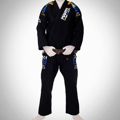 Manto Manto Champ 3.0 Black BJJ Gi